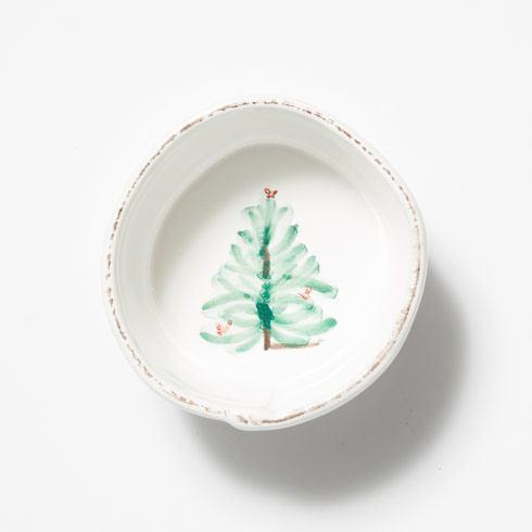 VIETRI Lastra Holiday Condiment Bowl $26.00