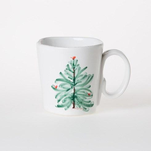 Vietri Lastra Holiday Mug $40.00