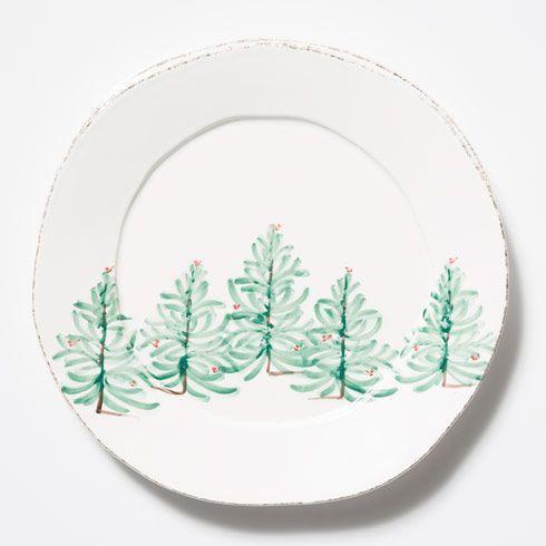 VIETRI Lastra Holiday Round Platter $123.00