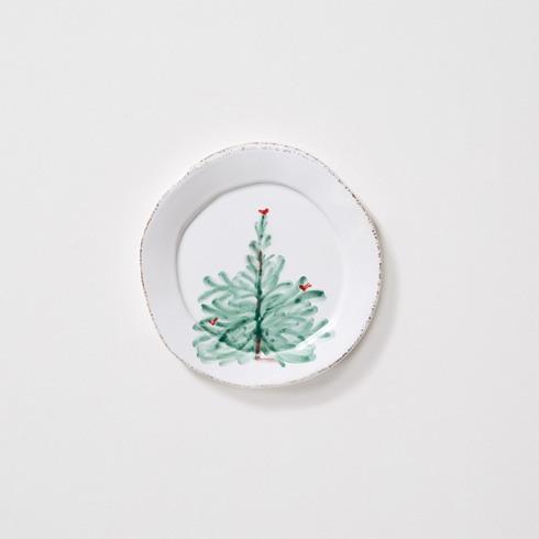 Vietri Lastra Holiday Canape Plate $28.00