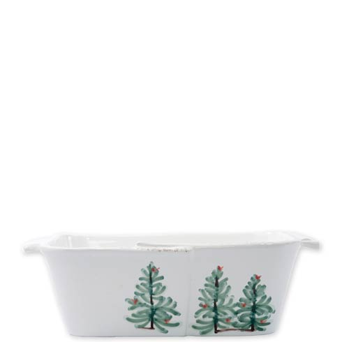 Vietri Lastra Holiday Loaf Pan $110.00