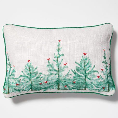 Vietri Lastra Holiday Rectangular Pillow $40.00