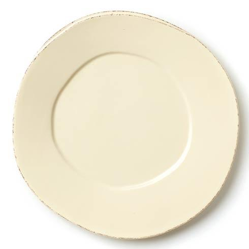 Vietri Lastra Cream Dinner Plate $40.00