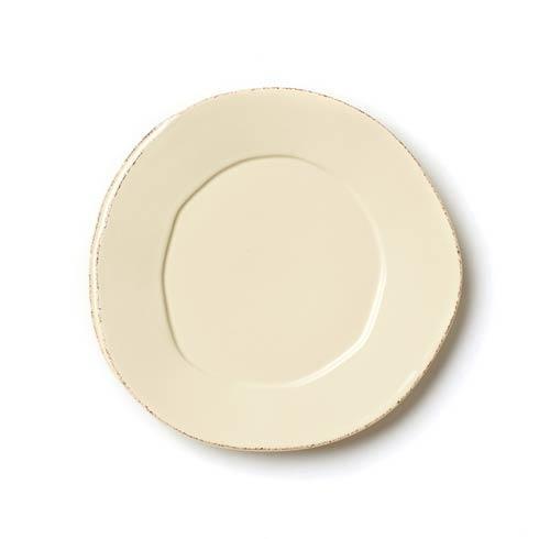 Vietri Lastra Cream Salad Plate $36.00
