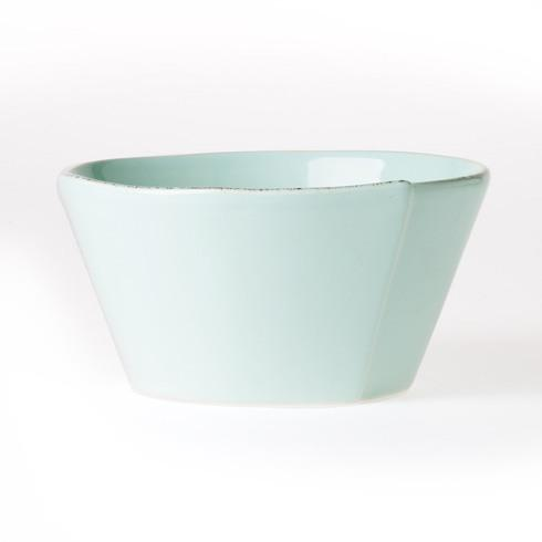 Vietri Lastra Aqua Stacking Cereal Bowl $36.00
