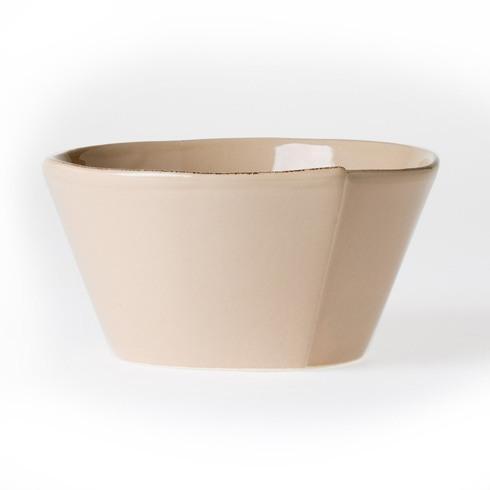 Vietri Lastra Cappuccino Stacking Cereal Bowl $36.00