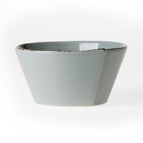 Vietri Lastra Gray Stacking Cereal Bowl $36.00