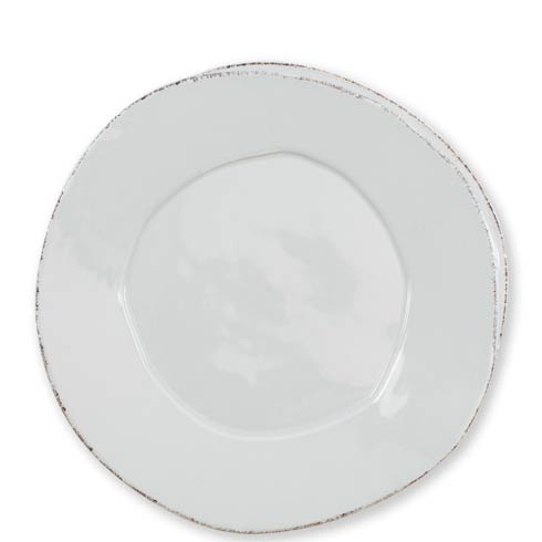 VIETRI Lastra Light Gray European Dinner Plate $38.00