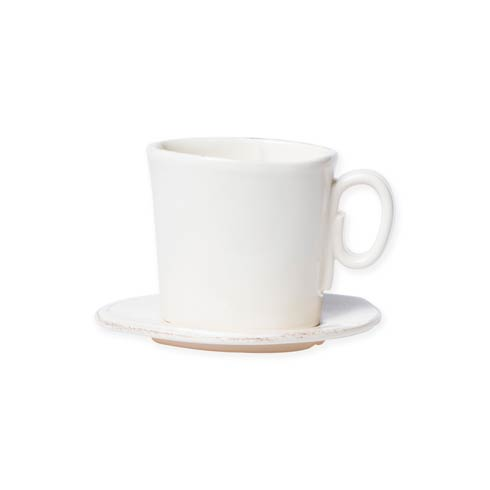 $39.00 Linen Espresso Cup & Saucer