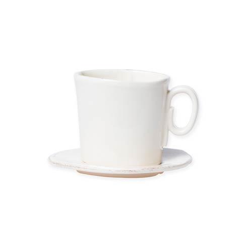 VIETRI Lastra Linen Espresso Cup and Saucer $40.00
