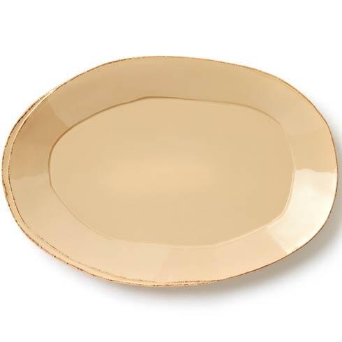 Vietri Lastra Cappuccino Oval Platter $138.00