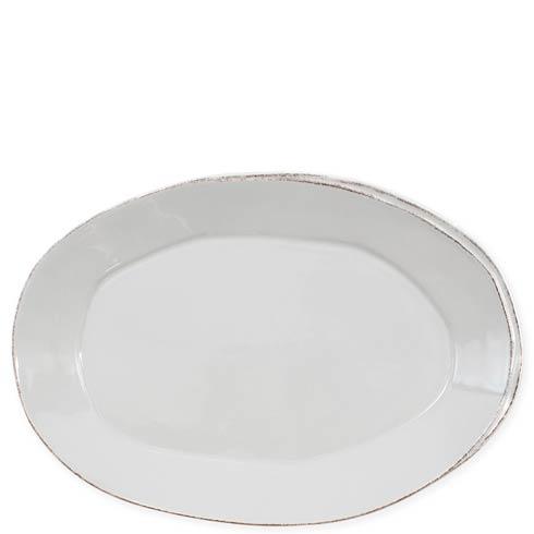 VIETRI Lastra Light Gray Oval Platter $139.00