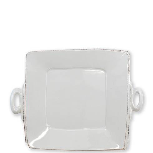 $134.00 Handled Square Platter