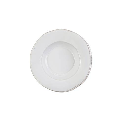 VIETRI Lastra White Rimmed Pasta Bowl $49.00