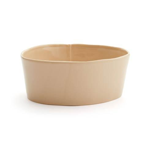 Vietri Lastra Cappuccino Medium Serving Bowl $68.00
