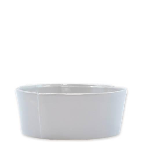 VIETRI Lastra Light Gray Medium Serving Bowl $69.00