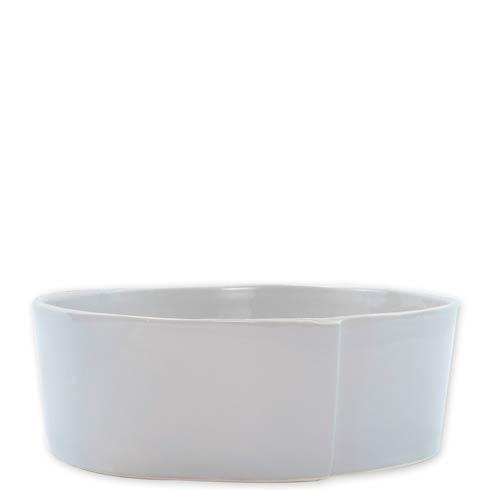 VIETRI Lastra Light Gray Large Serving Bowl $115.00