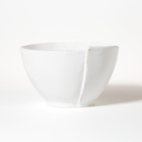 Vietri Lastra White Deep Serving Bowl $99.00