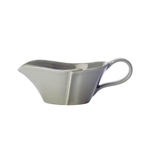 Vietri Lastra Gray Sauce Server $75.00
