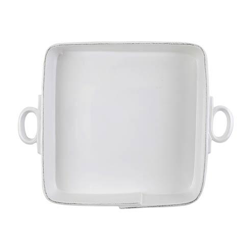 VIETRI Lastra White Large Square Baker $189.00