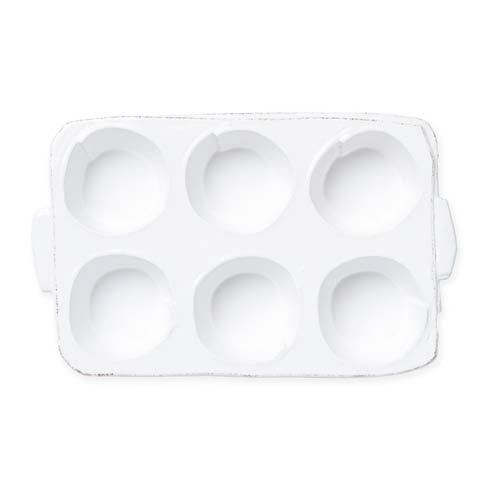 $110.00 Lastra White Muffin Tin