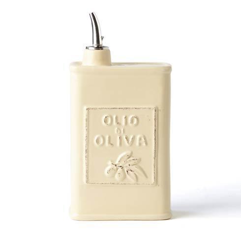 Vietri Lastra Cream Olive Oil Can $54.00