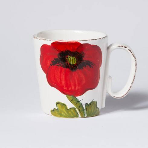 VIETRI Lastra Poppy Mug $44.00