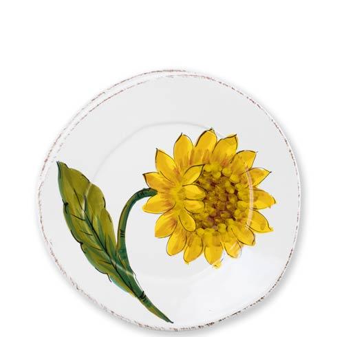 Vietri Lastra Sunflower Salad Plate $44.00