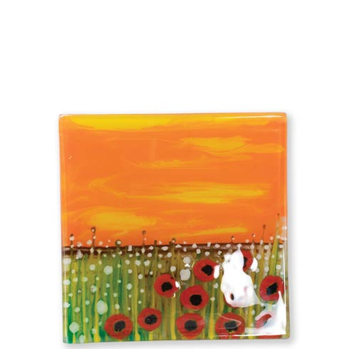 $48.00 Poppies Tray