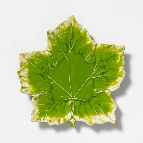 Vietri  Reactive Leaves Reactive Leaves Small  Plate $24.00