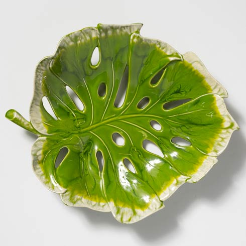 VIETRI  Reactive Leaves Centerpiece $241.00