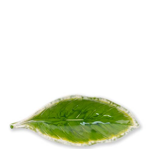 Vietri  Reactive Leaves Reactive Leaves Small Dish $39.00