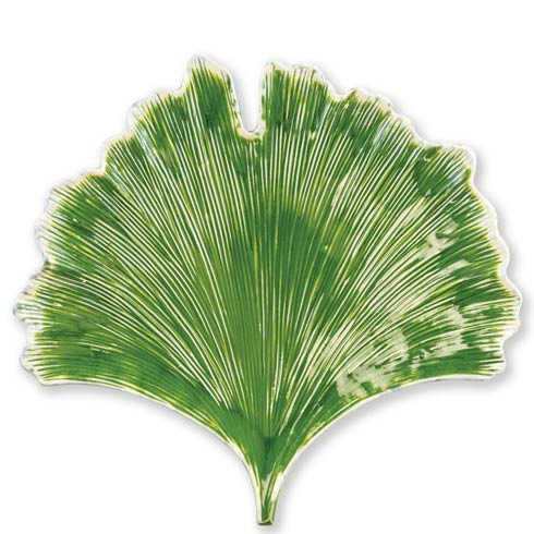 VIETRI  Reactive Leaves Ginkgo Leaf Plate $140.00