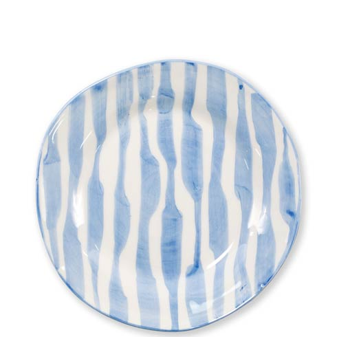 $52.00 Stripe Salad Plate