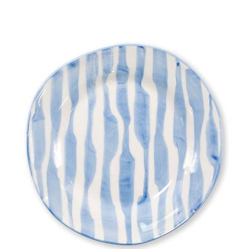 $52.00 Modello Stripe Salad Plate