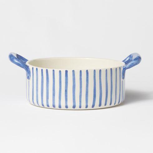 VIETRI  Modello Handled Round Baker $91.00