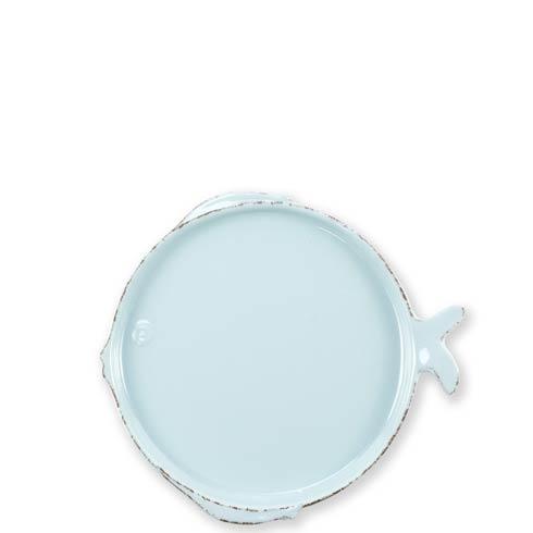 Aqua Salad Plate image