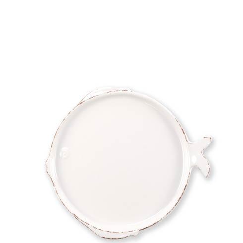 $21.00 White Salad Plate