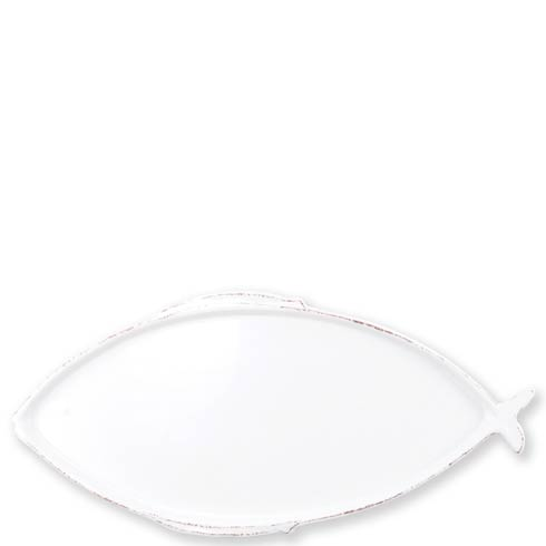 $65.00 White Large Oval Platter