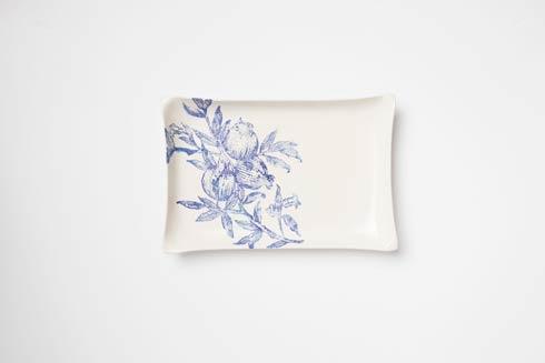 $128.00 Melagrana Blu Rectangular Platter