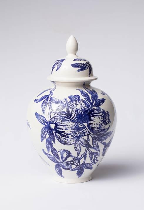 $340.00 Melagrana Blu Large Ginger Jar