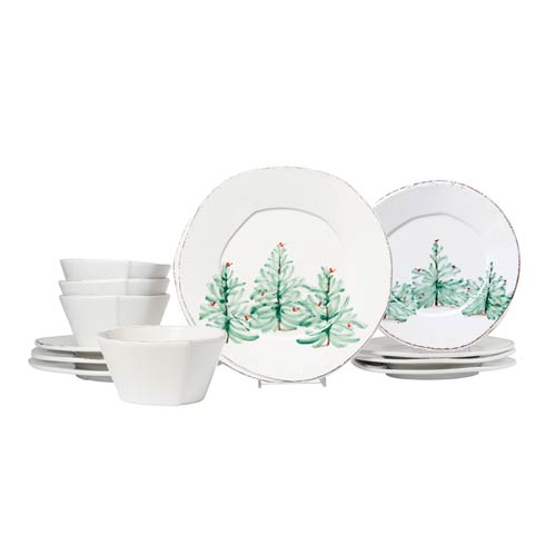 $240.00 Holiday Twelve-Piece Place Setting