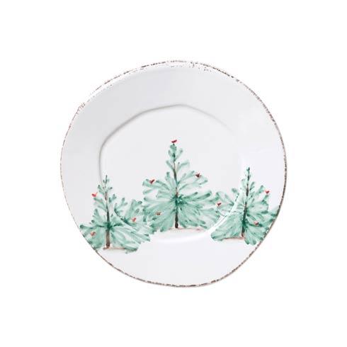 VIETRI   Melamine Lastra Holiday Salad Plate $19.00