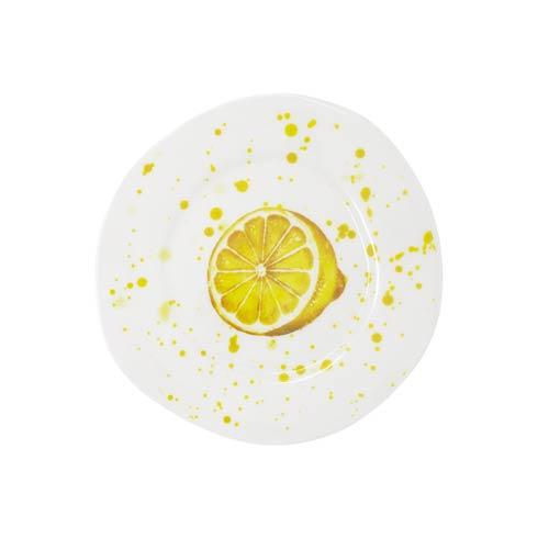 VIETRI Melamine Fruit Lemon Salad Plate $19.00