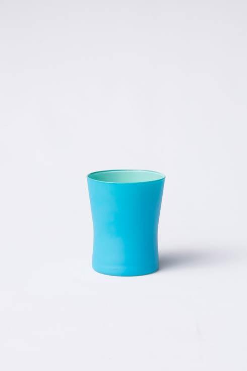 Aqua & Green Short Tumbler <br>(8 in stock)