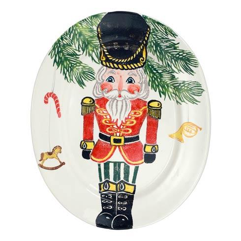 $344.00 Nutcrackers Large Oval Platter