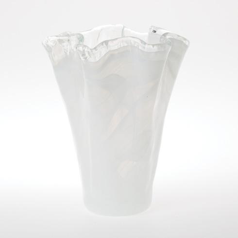 Vietri  Onda Glass Onda Glass Medium Vase $74.00