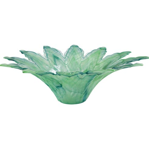 $70.00 Green Leaf Large Centerpiece