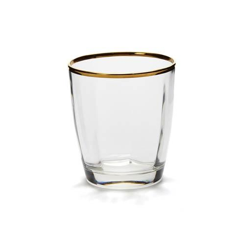 Vietri Optical Gold Double Old Fashioned $24.00