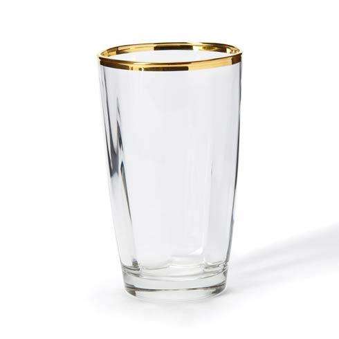 VIETRI Optical Gold Highball $25.00